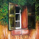 Southwest Window by Susan  Bergstrom