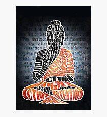 The Eightfold Path Buddha Photographic Print
