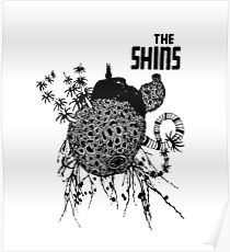 The Shins Combined Album Covers Poster