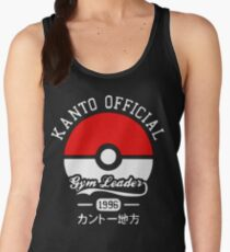 Kanto official gym leader Women's Tank Top