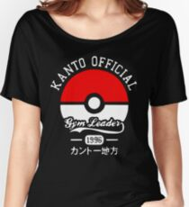 Kanto official gym leader Women's Relaxed Fit T-Shirt