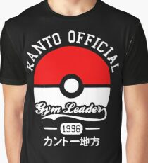 Kanto official gym leader Graphic T-Shirt