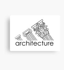 Adidas Architecture Canvas Print