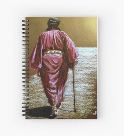 Navajo Woman...Long Walk Home... Spiral Notebook