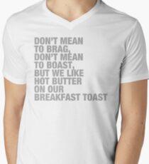 BreakfastToast Men's V-Neck T-Shirt
