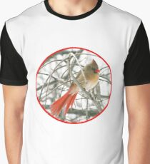 redbird with red ring Graphic T-Shirt