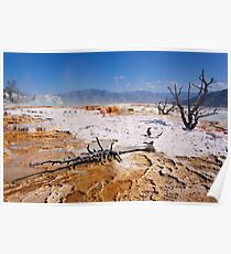 Mammoth Hot Springs 2 Poster