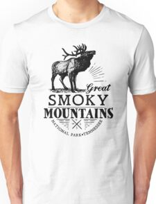 GREAT SMOKY MOUNTAINS NATIONAL PARK SMOKIES GATLINBURG PIGEON FORGE Unisex T-Shirt