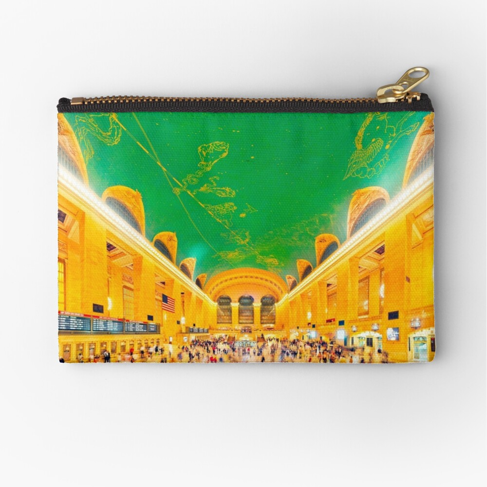 Grand Central Terminal: NYC Zipper Pouch