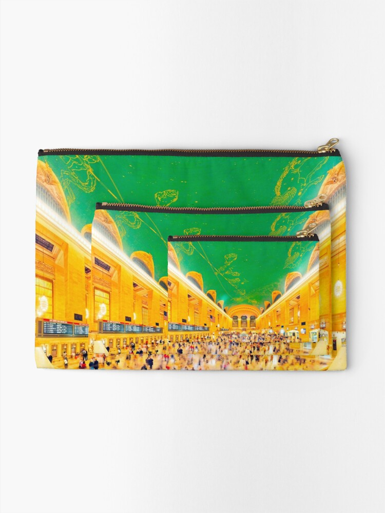 Alternate view of Grand Central Terminal: NYC Zipper Pouch