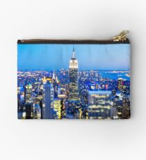 Empire State Building at Night: NYC Studio Pouch
