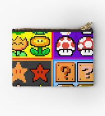 Mario Power-Up Evolution Studio Pouch