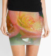 pink  begonias Mini Skirt