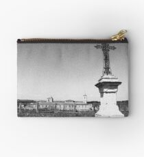 The Cross overlooks the town Studio Pouch