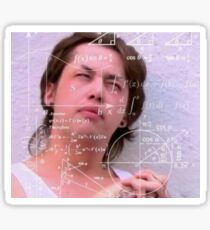 Adore Delano Math Meme Sticker