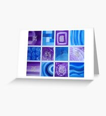 JW.org Purple and Blue  Greeting Card