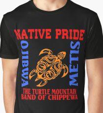 NATIVE PRIDE TURTLE MOUNTAIN BAND OF CHIPPEWA Graphic T-Shirt