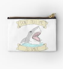 don't tell me to smile - color Studio Pouch