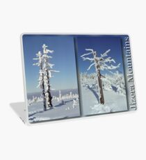 A diamond-dust day at the Smrk mountain (diptych) Laptop Skin