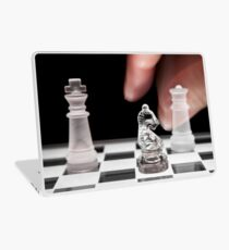 Chess 101: The knight moves to put the king in check Laptop Skin