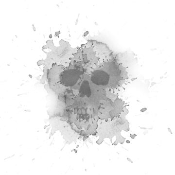 Water stain skull by mattwest