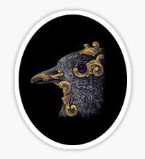 Ornamental Bird Sticker