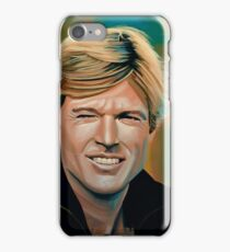 Robert Redford Painting iPhone Case/Skin
