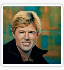 Robert Redford Painting Sticker