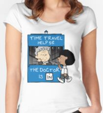 The Doctor And Bill Women's Fitted Scoop T-Shirt