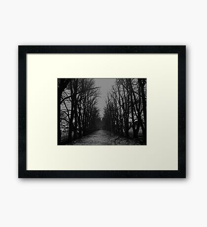 The Shortcut Framed Print