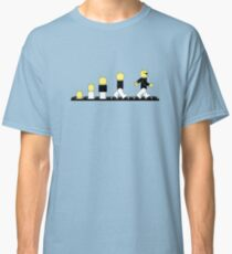 Evolution of lego man Classic T-Shirt