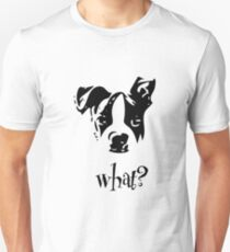 Boston Terrier Black and White What? - For Dog Lovers Puppy T-Shirt