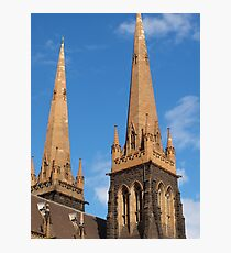 Towers of St Patrick Photographic Print