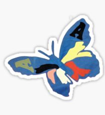The Avalanches Butterfly Sticker