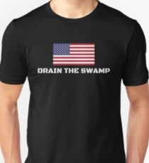 Drain The Swamp Donald Trump President 2016 Unisex T-Shirt