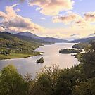 Queen's View, Loch Tummel by Tim Haynes