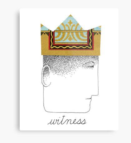 Silent Witness Metal Print