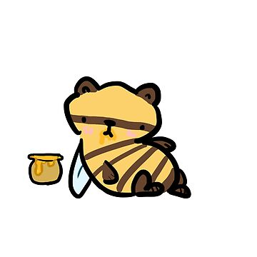 BumbleBear With his Honey by irishowl
