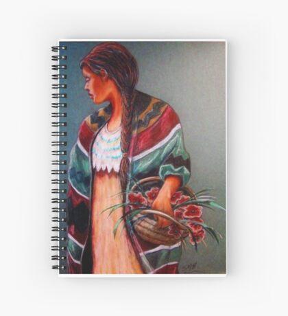 """""""The Flower Girl #2"""" Spiral Notebook"""