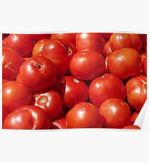 Farmers Market Tomatoes Poster