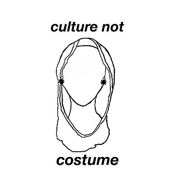 Culture, Not Costume by awakenclothing