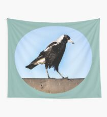 Solo Magpie Wall Tapestry