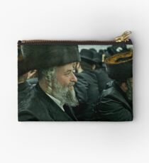 "7 ★★★★★ . A tish takes place at the meals in honor of the Shabbat, Jewish holidays, yahrzeit (""annual memorial"") for previous rebbes of that dynasty. by Doktor Faustus. Fav 2  views 256 .  Hat Heads ! Studio Pouch"