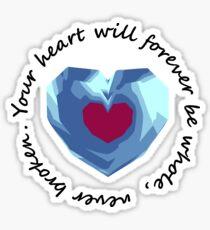 Heart Canister Sticker