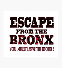 Escape From The Bronx - V2 Photographic Print