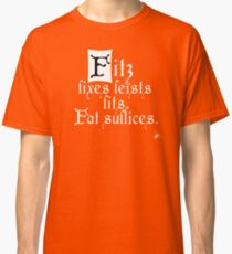 The Fitz and The Fool (Fitz) Classic T-Shirt