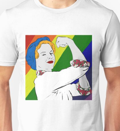 Betty the Bomb Girl (LGBT) Unisex T-Shirt