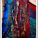 Untitled Abstract by Kaye Bel -Cher
