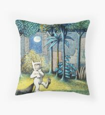 Where the Wild Things Are - Max in the jungle Throw Pillow