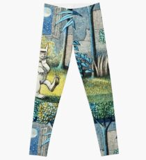 Where the Wild Things Are - Max in the jungle Leggings